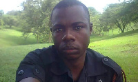 Corporal Duku Nicolas was killed in the robbery attack at Bogoso