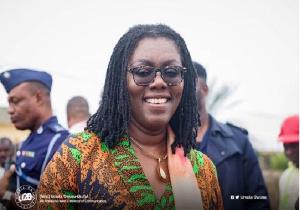 Madam Ursula Owusu, Minister of Communications