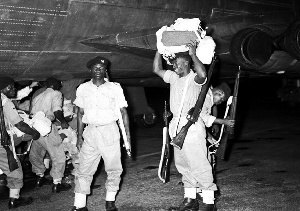 Ghanaian peacekeeping soldiers in Congo