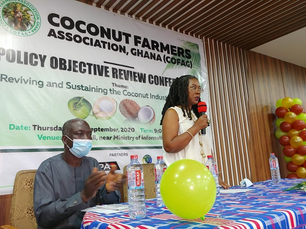 GEPA CEO commends women in coconut farming, pledges gov't support for industry