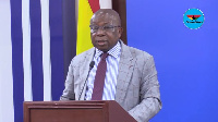Kwaku Asomah-Cheremeh, the Minister of Lands and Natural Resources