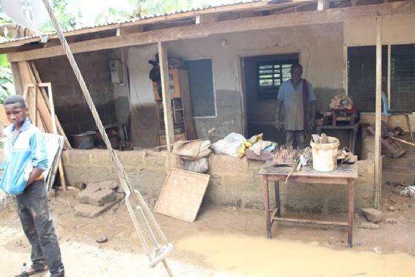 Family of six narrowly escape death in devastating flood