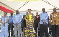 First Lady, Rebecca Akufo-Addo with other dignitaries at the event