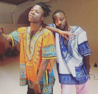 Ghanaian rapper Yaa Pono with multiple award winner Stonebwoy