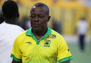 Interim coach of Asante Kotoko, Johnson Smith