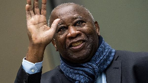 Ivory Coast's former president Laurent Gbagbo