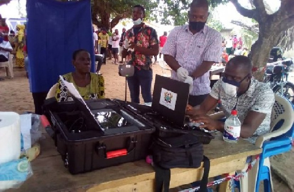 This is the last mass voter registration exercise - EC