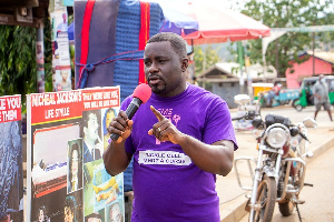 General Manager of SMS Media Services, Sampson Manu