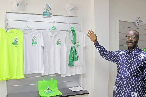 Dr. Papa Kwesi Nduom owner of Elmina Sharks