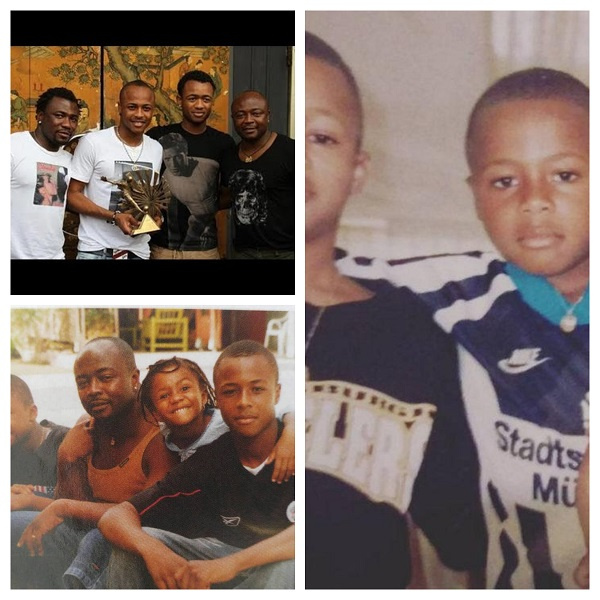 Ayew, other African players celebrate Father's Day