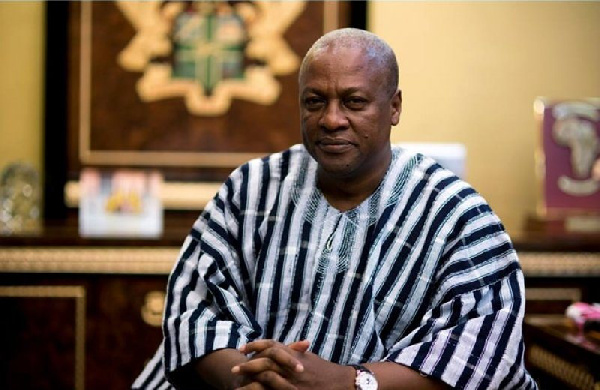 President Mahama is the first sitting president to lose an election in the 4th Republic