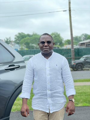 Prince Adjei is the records Information Management Project Coordinator for a company in the US