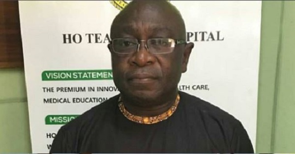 Chief Executive Officer of the Ho Teaching hospital in Ho, Dr John Tampuori