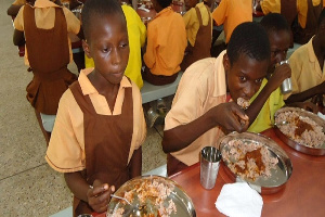 File photo: Many schools in Suhum Municipality were not served the hot meals on Monday