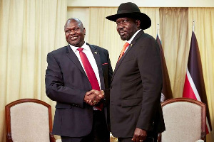 South Sudan hold-out groups ask to be included in peace deal