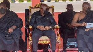 President Akufo-Addo at the ceremony