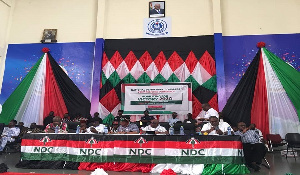 The NDC hopes to reclaim power in the next elections