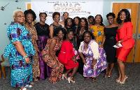 Members of the Ghanaian Women's Association of Georgia