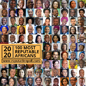 The list features an array of successful prominent Africans