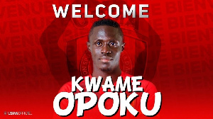 Kwame Opoku Has Officially Been Announced As A Player Of USMA