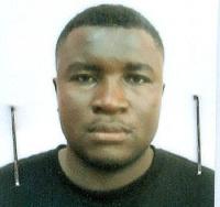 Eric Kojo Duah in police custody