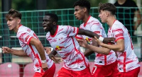 The pair started as Leipzig took on the youth team of French giants PSG