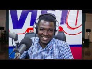 Ghanaian radio presenter, Kwame OB Nartey