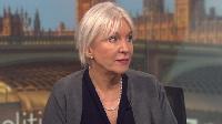 UK Health minister Nadine Dorries