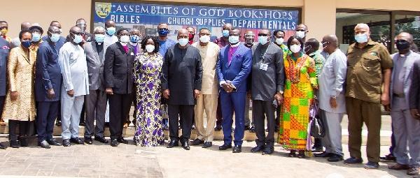 Speak your mind freely - Mahama tells clergy