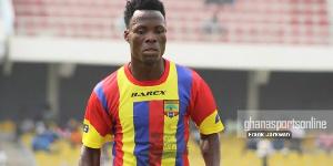 Former Hearts of Oak midfielder Samudeen Ibrahim