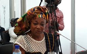 Former Minister for Gender, Children and Social Protection, Otiko Djaba