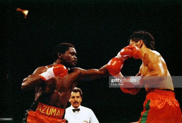 Image result for Today in Sports History: Azumah Nelson retains WBC title