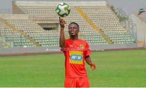 Former Asante Kotoko winger Sam Adams
