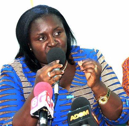 Beauty Emefa Narteh, Executive Secretary of Ghana Anti-Corruption Coalition