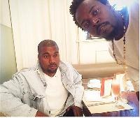 Kwaw Kese and Kanye West