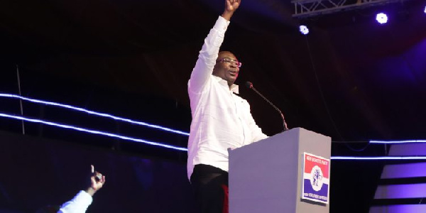 Bawumia gives a new twist to the meaning of NPP, NDC positions on ballot paper