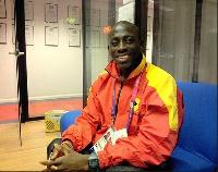Ghanaian Para-cyclist Alem Mumuni
