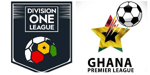The Ghana Premier League and Division One League will resume on October 30