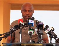 Deputy Minister of Sanitation, Michael Gyato