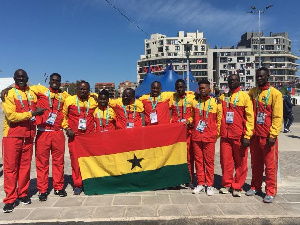 Team Ghana failed to win a medal at the Games