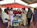 NPP Premier Ladies group donates to Tema West Constituency