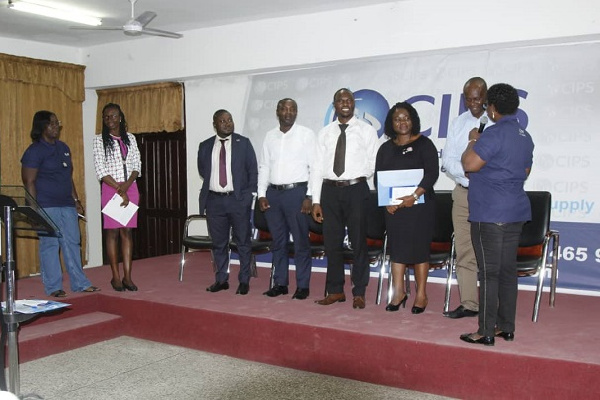 New leaders for Chartered Institute of Procurement and Supply Ghana