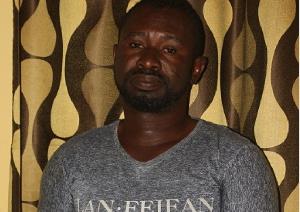 The suspect, Paul Kwabena Anum