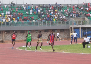 New records were set in the 4×400 metre events of the GUSA Games