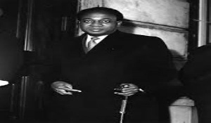 Ghana's first president, Kwame Nkrumah
