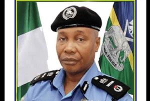 Usman Baba Alkali, Nigeria's acting Inspector General of Police