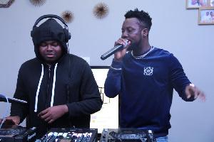 DJ Loft and Kojo Manuel