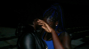 Female fan cries seeing Ebony