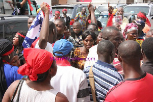 NPP Supporters Angry