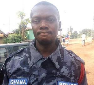 The late Sergeant Kwame Baidoo